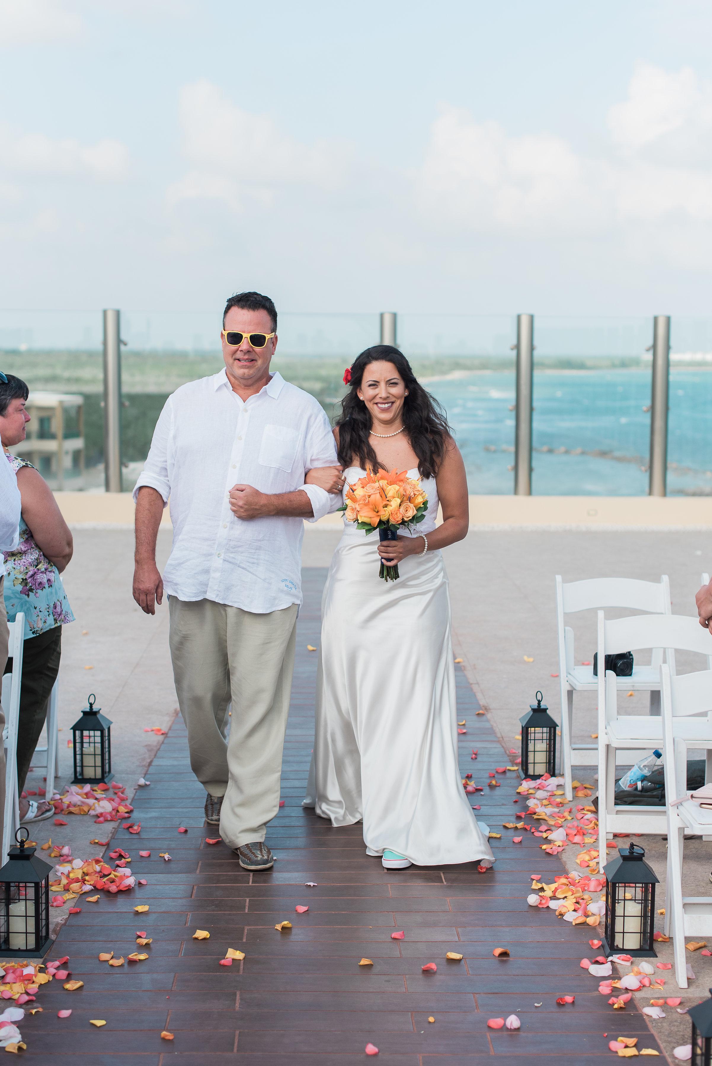 destination wedding in mexico